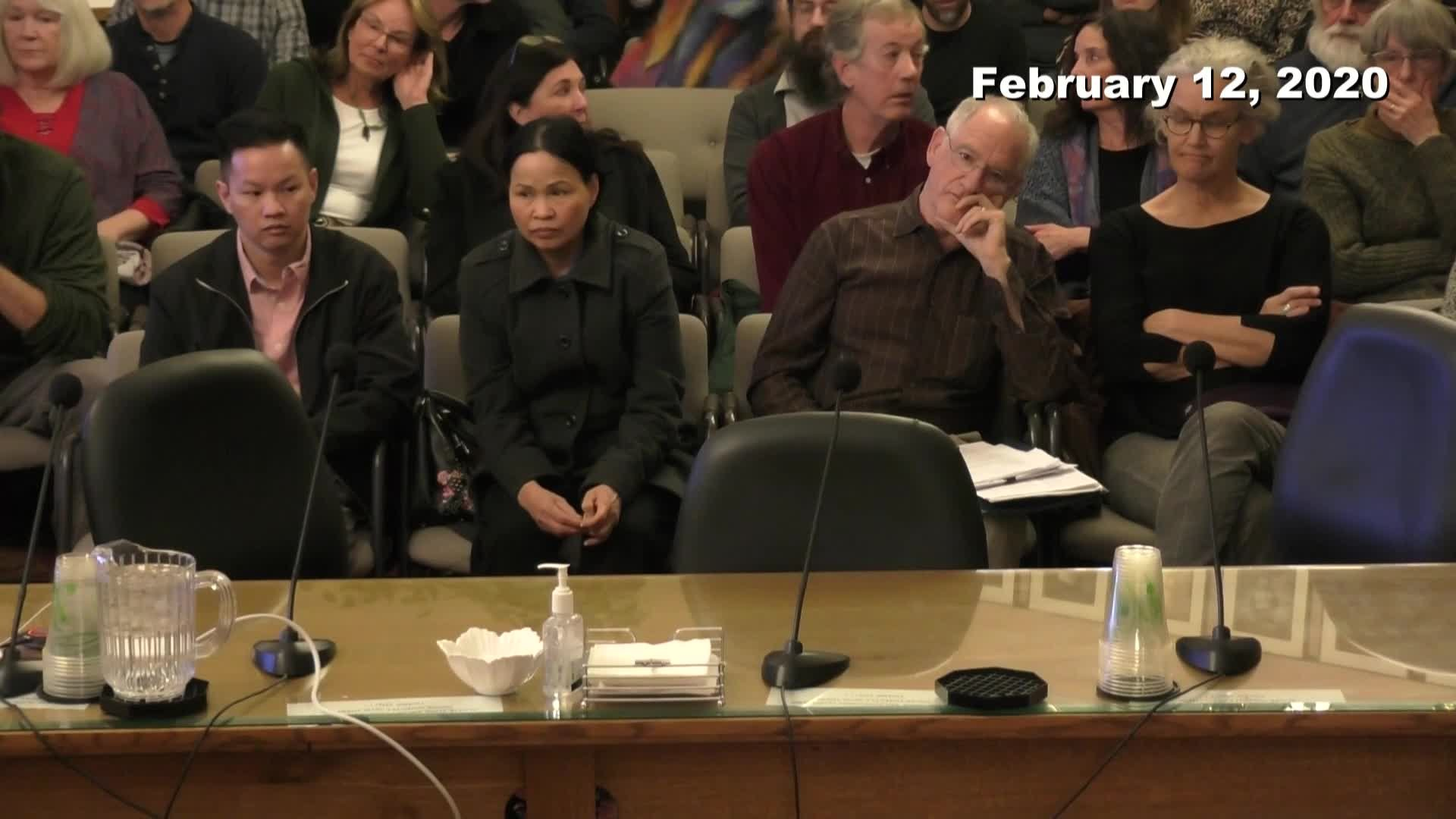 Planning Commission Meeting - 02/12/2020