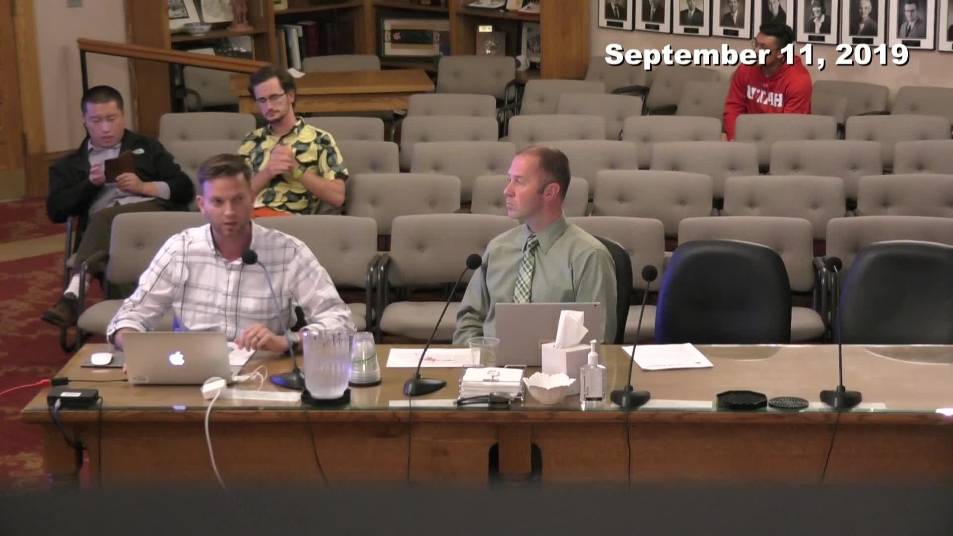 Planning Commission Meeting - 09/11/2019