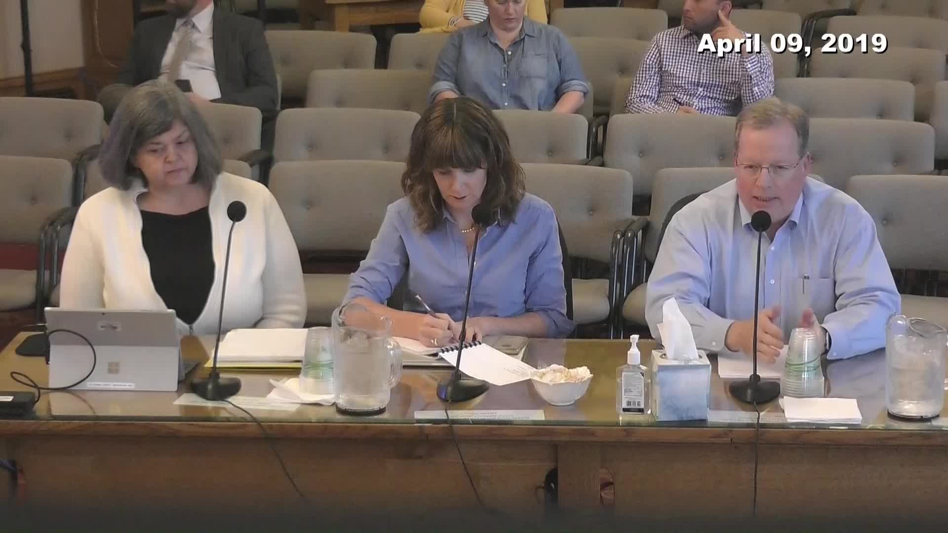 City Council Work Session - 04/09/2019