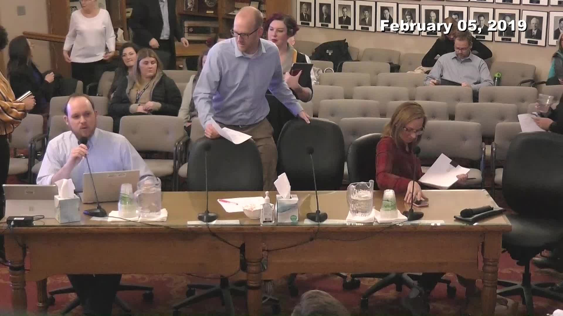 City Council Work Session - 02/05/2019