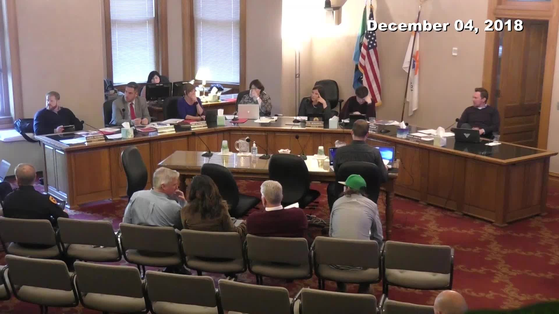 City Council Work Session - 12/04/2018