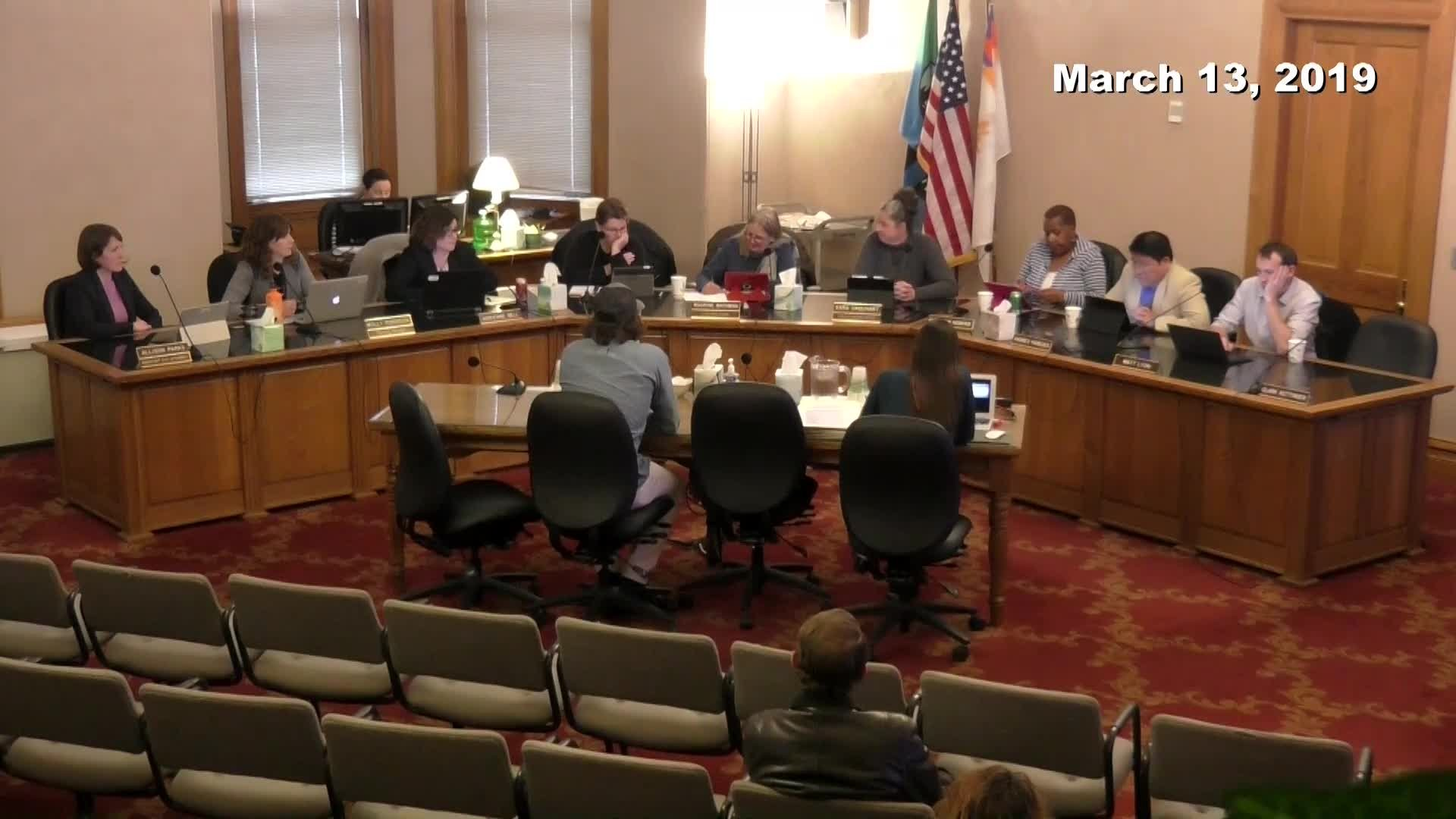 Planning Commission Meeting - 03/13/2019