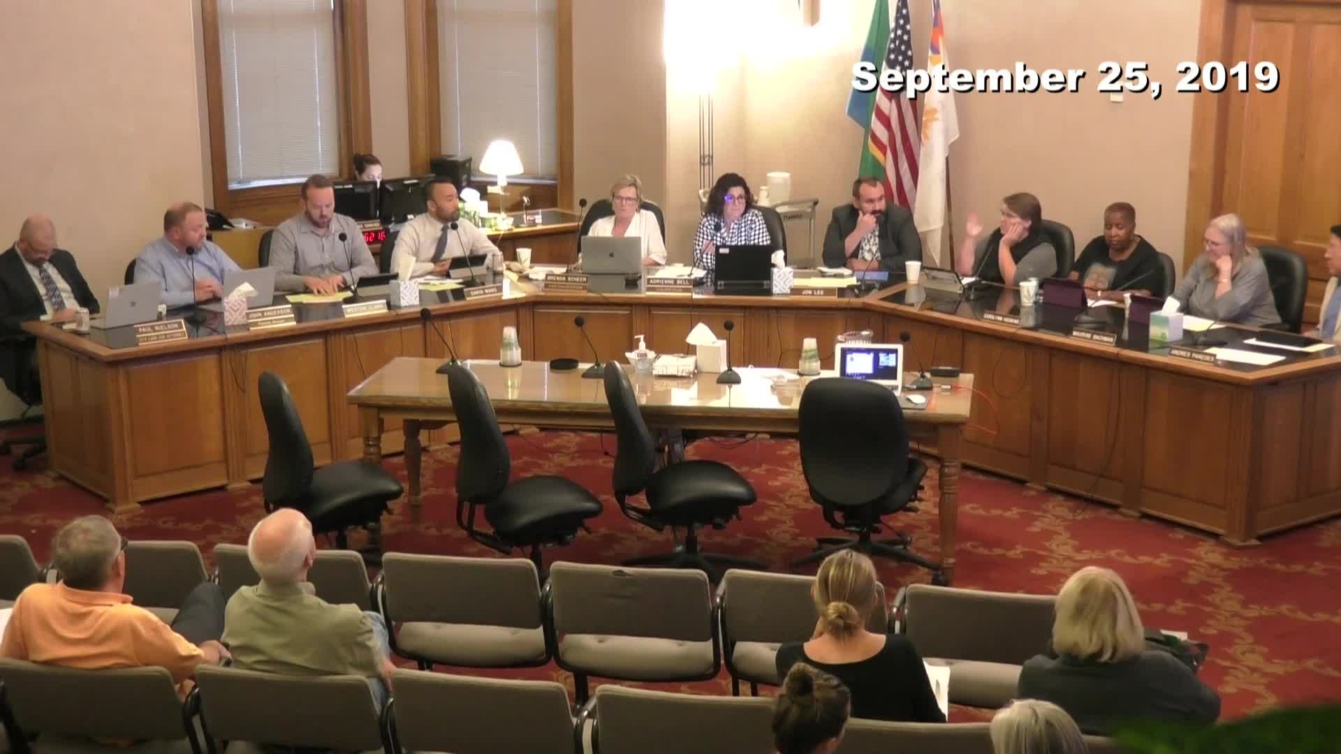 Planning Commission Meeting - 09/25/2019