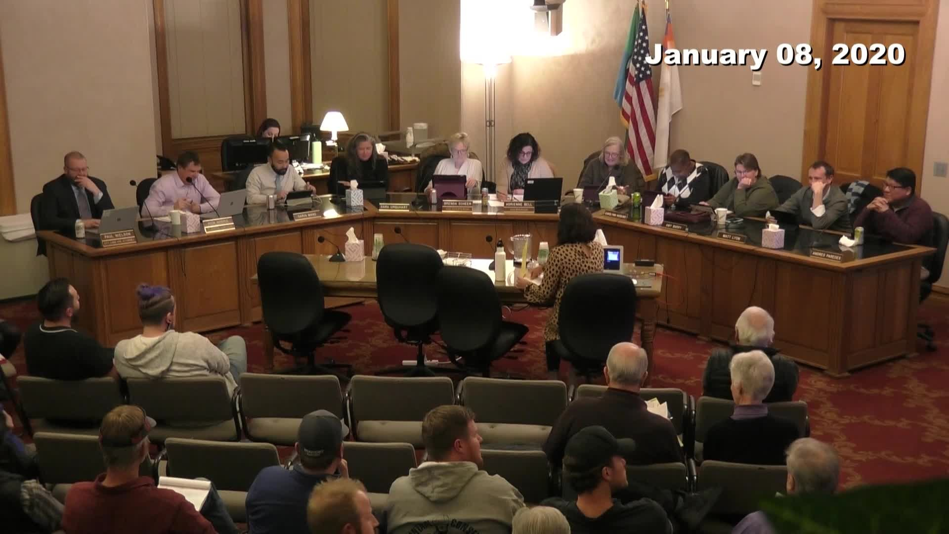 Planning Commission Meeting - 01/08/2020