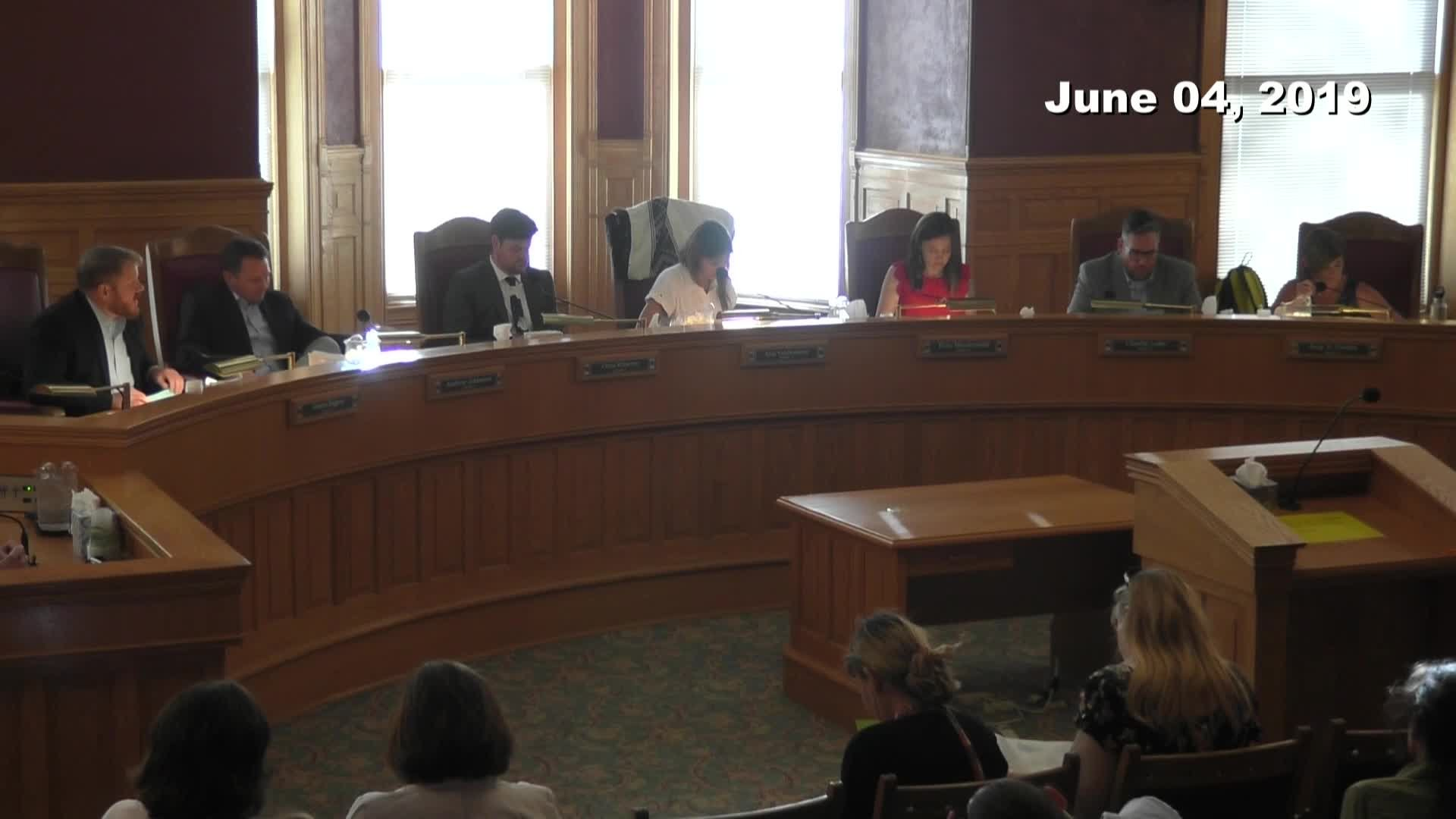 City Council Formal Meeting - 06/04/2019