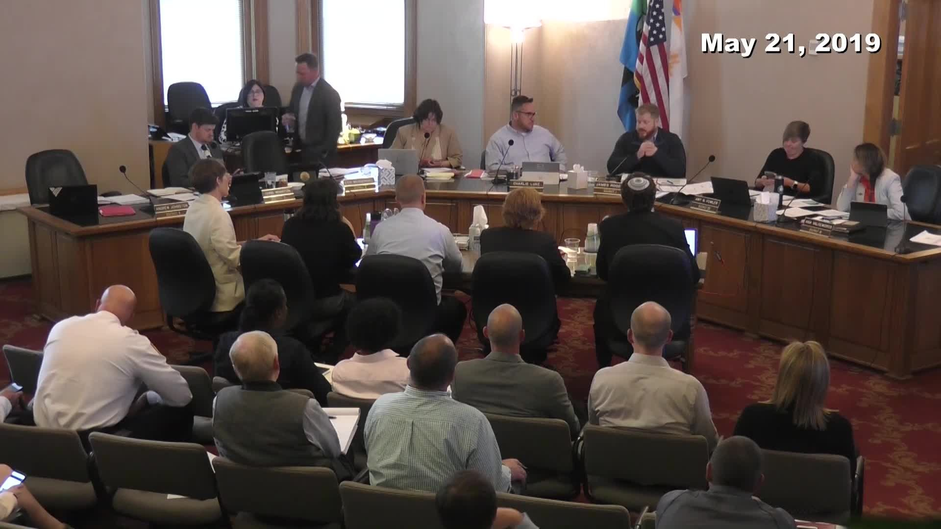 City Council Work Session - 05/21/2019