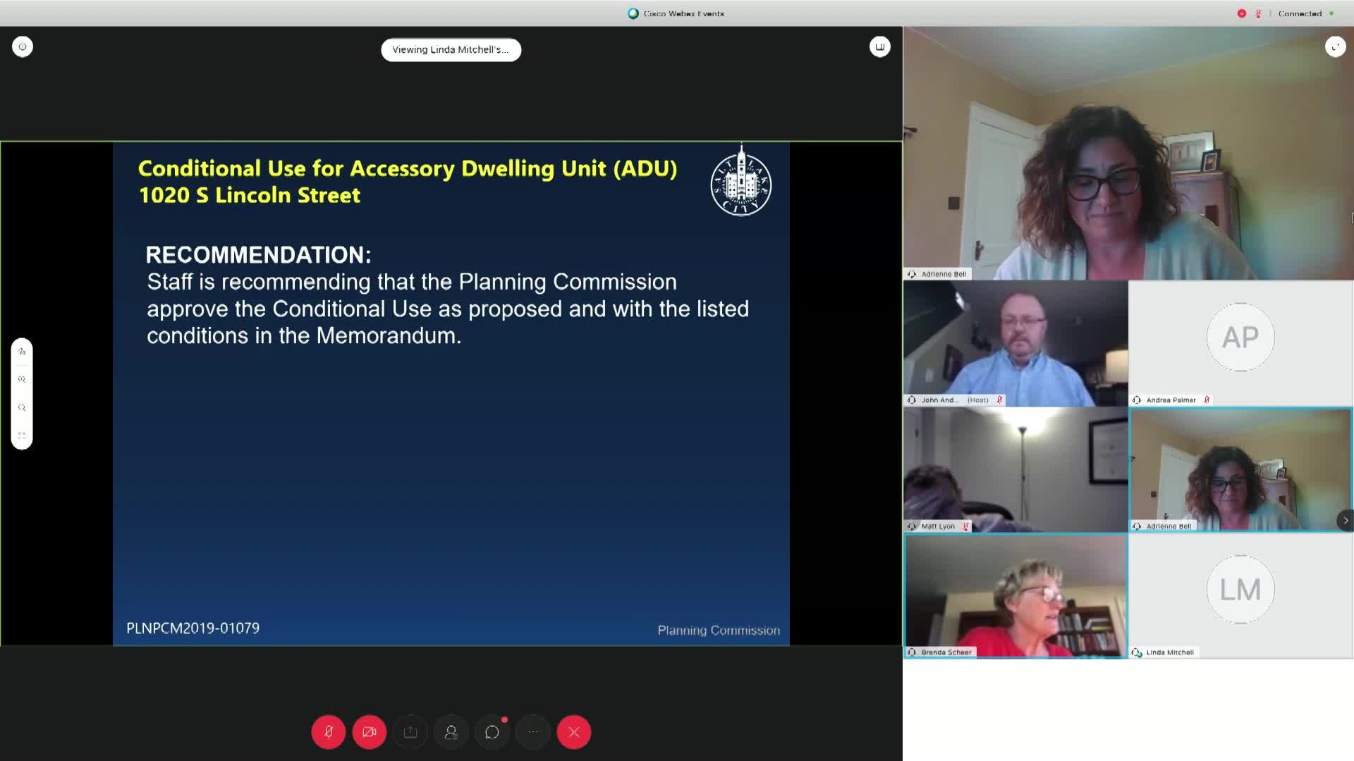 Planning Commission Meeting - 06/10/2020