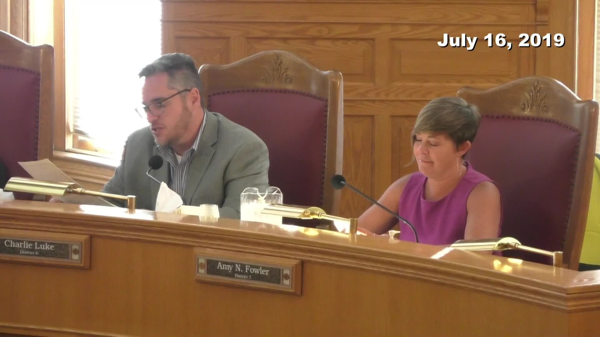 City Council Formal Meeting - 07/16/2019